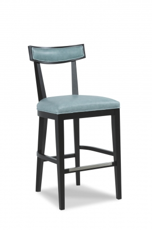Fairfield's Douglas Wooden Bar Stool with Backrest