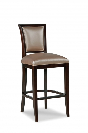 Fairfield's Mackay Wooden Bar Stool with Backrest