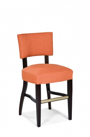 Fairfield's Niles Wood Counter Stool with Backrest