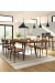 Amisco's Hint Dining Chairs with Table in Dining Room