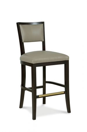 Fairfield Chair's Hale Wooden Bar Stool with Back