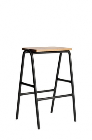 Grand Rapids Chair Company - Hurdle Backless Stool