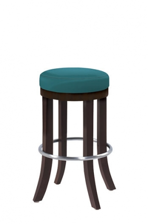 Grand Rapids Chair Company - Harbor Backless Bar Stool w/ Stainless Steel Footring