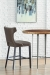 Fairfield's Gavin Wooden Bar Stool in Dining Room with High Table
