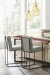 Fairfield's Ian Modern Counter Stools in Living Room