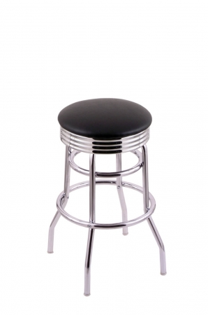 Holland's C7C3C Classic Series Backless Swivel Stool