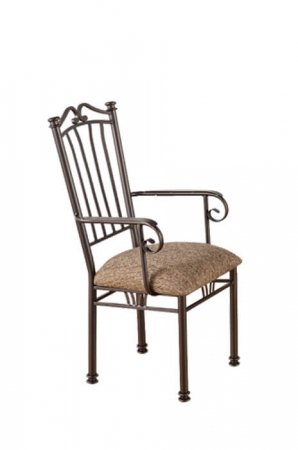 Callee's Sunset Dining Chair with Arms and High Back