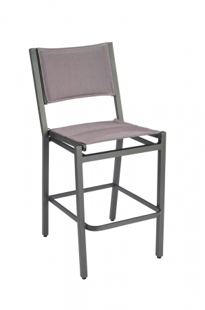 Woodard's Palm Coast Outdoor Padded Armless Bar Stool