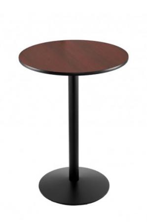 214-22 Black Wrinkle Table Set