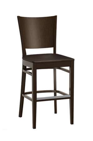 Grand Rapid's Wood Mama Melissa Stool with Wood Seat
