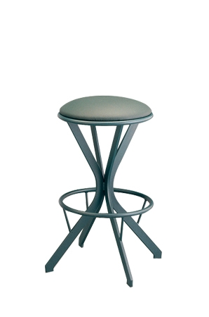 Lisa Furniture's #186 Atlas Backless Swivel Stool
