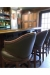 Fairfield's Gimlet Luxury Wood Bar Stools in Home Bar