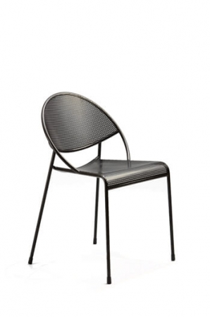 Grand Rapids Hula Outdoor Chair in Black