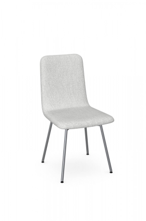 Amisco's Bray Gray Modern Dining Chair