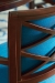Fairfield's Mackay Upholstered Dining Chair in Blue Fabric - Close-Up