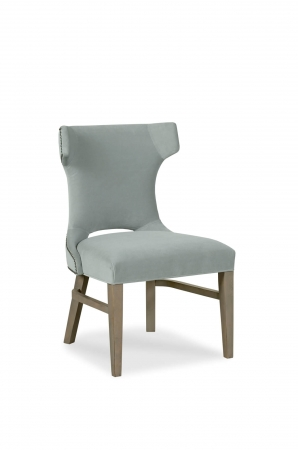 Fairfield's Gavin Transitional Wooden Upholstered Side Chair