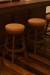 Darafeev's 965 Backless Swivel Multiple Bar Stools in Home Bar