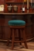 Milano Backless Swivel Stool in Home Bar