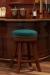 Milano Backless Swivel Stool in Home Bar