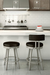 Amisco Barry Swivel Stool in Kitchen