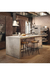 Amisco Bluffton Swivel Stool in Industrial Kitchen