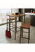 Amisco Bradley Non-Swivel Stool with Pub Table