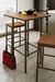 Amisco Bradley Non-Swivel Stool in Kitchen