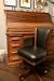 Darafeev's 615 Oak Swivel Adjustable Office Chair in Black