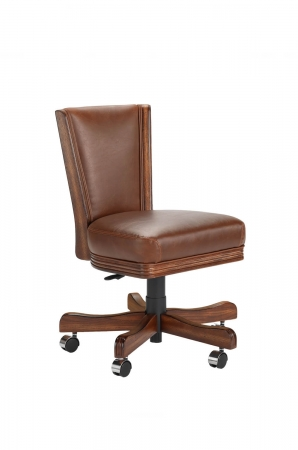 Darafeev's 615 Flexback Game Chair in Oak Wood