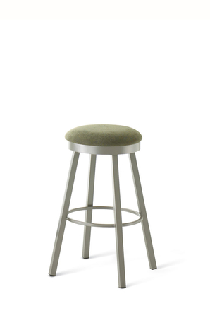 Amisco Connor Backless Swivel Stool