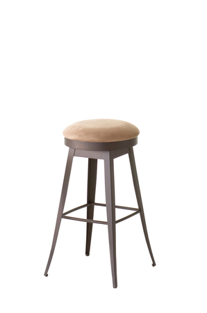 Amisco Grace Backless Swivel Stool