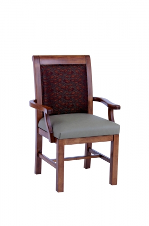 Darafeev's Sherman Maple Dining Chair with Arms