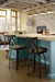 Amisco Harp Swivel Stool in Farmhouse Kitchen