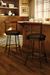Amisco Historian Swivel Stool in Farmhouse Kitchen