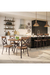 Amisco Kyle Swivel Stool in Modern Industrial Kitchen