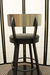 Amisco Lauren Swivel Stool for Modern Kitchens