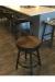 Amisco's Lauren Swivel Bar Stool in Customer's Kitchen