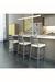 Amisco No-Swivel Stool in Clean Modern Kitchen