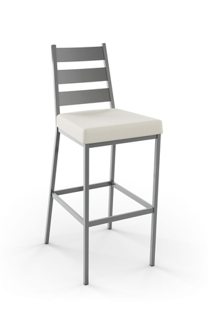 Amisco Level Stationary Stool with Straight Legs