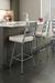 Amisco Level Swivel Stool for Contemporary Kitchens