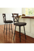 Amisco Marcus Swivel Stool in Traditional Kitchen