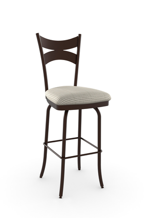 Amisco Meadow Swivel Stool for Traditional Kitchens