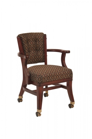 Darafeev's 960 Club Chair with Arms and Casters