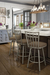 Amisco Momentum Swivel Stool for Farmhouse Kitchens