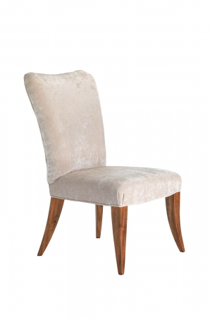 Darafeev's Treviso Formal Flexback Wood Dining Chair with Fabric Seat and Back Cushion