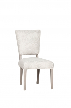 Fairfield Chair's Hemsdale Side Chair Upholstered with Geometric Pattern