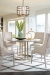 Fairfield's Briarcroft Modern Dining Arm Chair in Dining Room