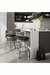 Amisco Rival Swivel Counter Stool in Modern Kitchen