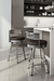 Amisco Rival Swivel Stool in Modern Kitchen
