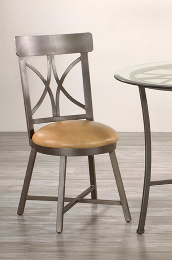 Wesley Allen S Camarillo Iron 18 Dining Chair W Cross Back Design
